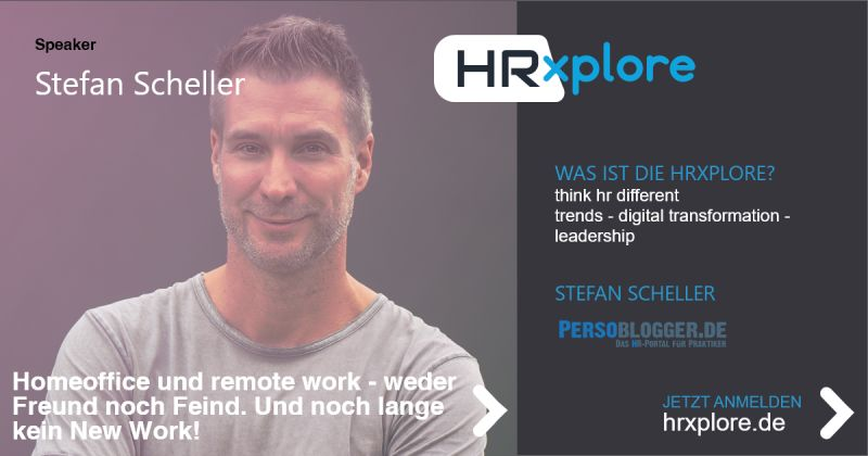 HRxplore Visual Speaker Stefan Scheller