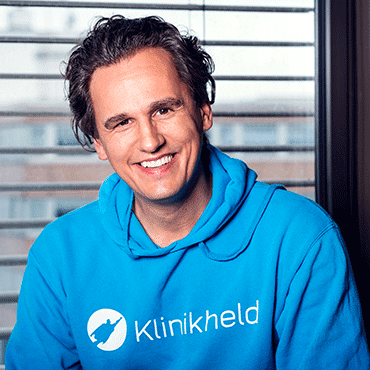 Daniel Huth vom HR-Startup Klinikheld im Interview