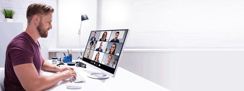 Praxistipps für erfolgreiche Videokonferenzen bei mobiler und hybrider Arbeit