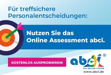 abci Online Assessment - Personalauswahlentscheidungen professionell treffen